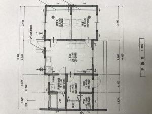 新築・平屋平面図