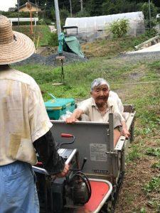 稲刈り 山方宿 現行犯逮捕