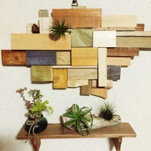 DIY 壁飾り