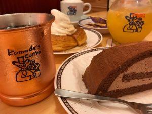 日曜 コーヒー 寿司 デザート 魚べい コメダ珈琲